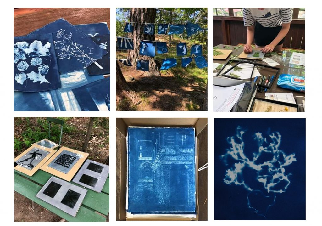 Lusthuskurs – blue prints
